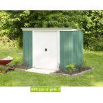 Chalet et Jardin P64 - Abri de jardin monopente en métal 2,31 m2