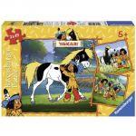 Ravensburger Les Meilleurs Amis De Yakari - Puzzle 3 x 49 pièces