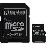 Kingston SDC10G2/256GB - Carte mémoire microSDXC 256 Go UHS Class10 + adaptateur