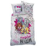 Cti Monster High - Housse de couette et taie (140 x 200 cm)
