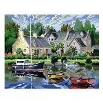 Oz international Peinture au numéro : Maisons bretonnes