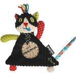 Les Déglingos Doudou Baby Charlos le chat 26 cm