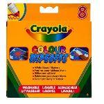 Crayola 8 feutres effaçables à sec pour tableau blanc