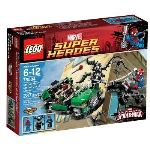 Lego 76004 - Super Heroes : Marvel Comics - Spiderman la poursuite en moto-araignée