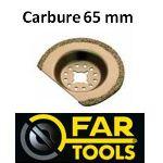 Far Tools 151005 - Lame segment carbure 65 mm