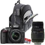 Nikon D5300 (avec 2 objectifs 18-55mm et 70-300mm)