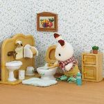 Epoch Sylvanian Families 2203 - Frère lapin chocolat/toilettes