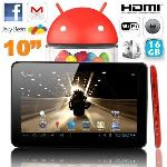"""Yonis Y-tt11g16 - Tablette tactile 10"""" sous Android 4.2 (8 Go interne + Micro SD 8 Go)"""