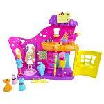 Mattel Polly Pocket - Le salon de beauté multicolore