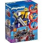 Playmobil 4217 - Forteresse des chevaliers transportable avec épée et bouclier