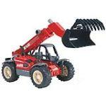 Bruder Toys 2125 - Chargeur télescopique Manitou MLT 633
