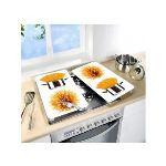 Wenko 2 couvre plaques de cuisson universels Spaghettis