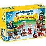 Playmobil 5497 - 1.2.3 : Calendrier de l'avent Noël dans la forêt