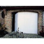 Porte de garage coulissante en PVC (200 x 240 cm)