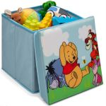 Delta Children Pouf de rangement Winnie l'ourson