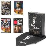 Coffret Johnny Hallyday - Point de chute + Commissaire Moulin : Kidnapping + David Lansky, intégrale