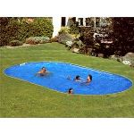 Gre PEOV8159 - Piscine Star Pool ovale enterrée 810 x 470 x 150 cm