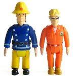 Pack de 2 figurines Sam le pompier : Sam + Tom Thomas