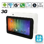 """Yonis Y-tt5g36 - Tablette tactile 7"""" 3G sous Android 4 (4 Go interne + Micro SD 32 Go)"""