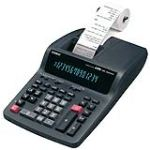 Casio DR-320TEC - Calculatrice de bureau imprimante