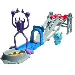 Spin Master Circuit de course Monstres Academy Toxic Race Playset