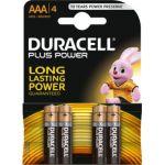 Duracell Plus Power 1,5V LR03 blister de 4 piles
