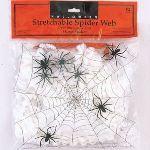 Décoration Halloween : petite toile d'araignée