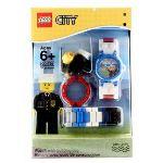Lego 9001789 - Montre pour enfant Policier avec jouet de construction