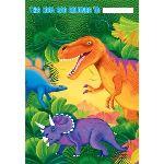 Amscan 6 sacs de fête Dinosaure