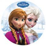 Dekora Disque de décoration en sucre Disney La Reine des Neiges (16 cm)