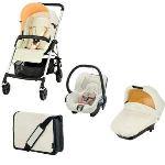 Bébé Confort Streety Plus - Combiné Trio avec poussette, nacelle, siège auto et sac à langer