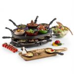OneConcept Woklette - Grill de table, raclette et wok pour  6 personnes