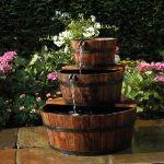 Ubbink 1387021 - Fontaine de jardin en bois Edinburgh