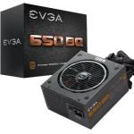 Evga 110-BQ-0650-V2 - Bloc d'alimentation modulaire PC 650W certifié 80 Plus Bronze