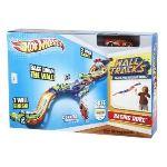 Mattel Hot Wheels - Circuit de voiture Wall Tracks : Racing Duel