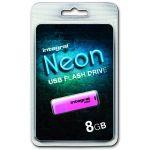 Integral INFD8GBNEON - Clé USB 2.0 Neon 8 Go