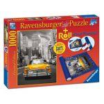 Ravensburger Taxi New-York + Tapis de puzzle - Puzzle 1000 pièces