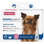Beaphar Complément alimentaire Caniguard pour chien de 2 à 7.5 kg Line on à la Perméthrine