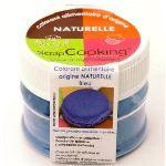 Scrapcooking 4208 - Colorant alimentaire origine naturelle bleu