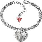 Guess Ubb71311 - Bracelet en métal et strass pour femme