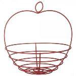 La Chaise Longue Corbeille à fruits Pomme en métal
