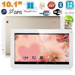 """Yonis Y-tt51g24 - Tablette tactile 10.1"""" sous Android 4.2 (8 Go interne + Micro SD 16 Go)"""