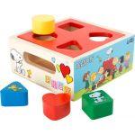"""Legler 4336 - Cube à encastrer """"Peanuts"""""""