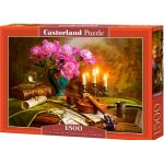 Castorland Still Life with Violin and Flowers - Puzzle 1500 pièces