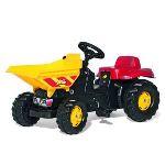 Rolly Toys Tracteur à pédales DumperKid avec benne