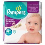 Pampers Active Fit taille 4+ Maxi Plus 9-20 kg - 37 couches
