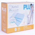 Korbell KR280DR3B - 3 recharges pour poubelle à couche 26 L
