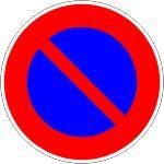 "Taliaplast 622213 - Panneau Ps Choc ""stationnement interdit"" Ø 300 mm"