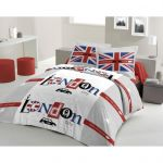 Lovely Home London Taxi - Parure de lit (200 x 200 cm)