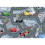 Associated weavers World of Cars 2 - Tapis de jeu (95 x 133 cm)